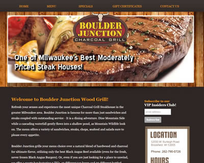 Boulder Junction Wood Grill