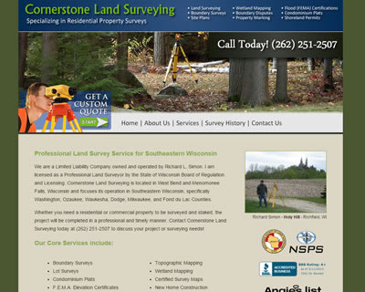 Cornerstone Land Survey